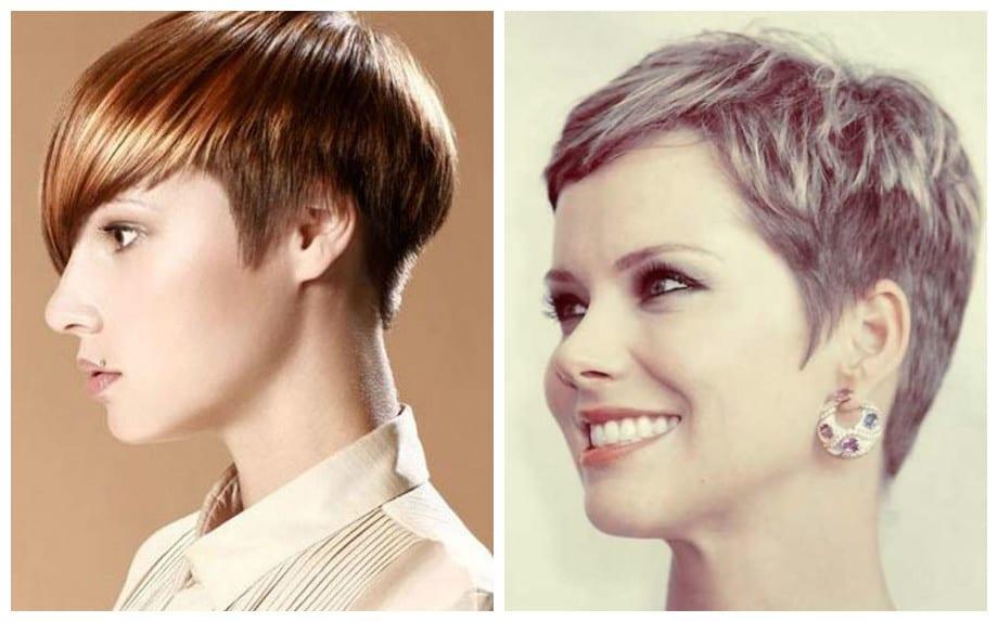 Tagli di capelli corti doppio taglio